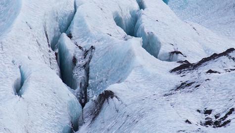 Ghiaccio del Mýrdalsjökull
