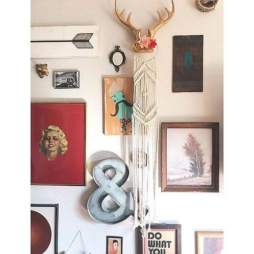 """Macrame Wall Hanging """"Bijou"""""""