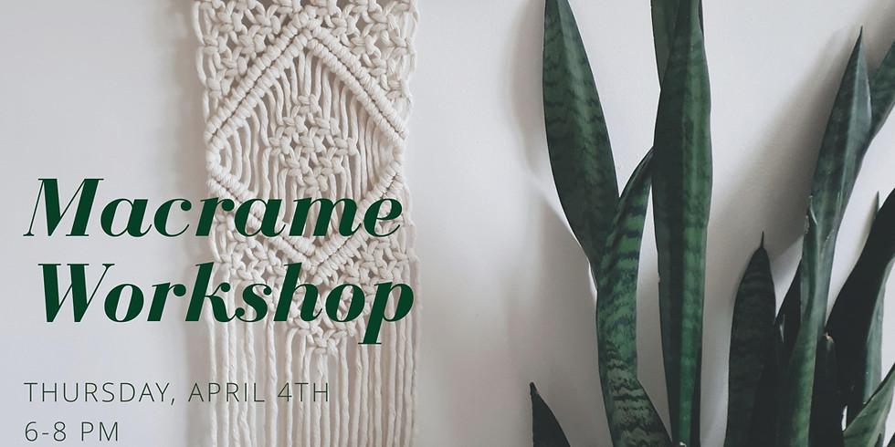 Macrame Wall Hanging Workshop (1)