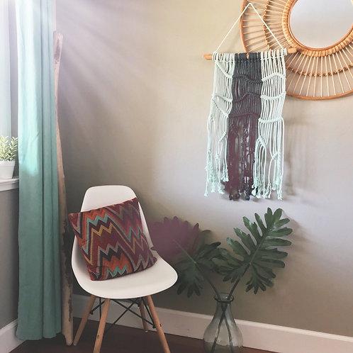 "Macrame Wall Hanging ""Coralia"""