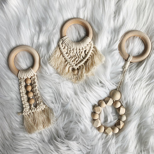 Macrame Teether Set