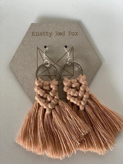 FARREN Macrame Mini Hoop Earrings