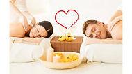 massage en duo couple, massage avec son mari, moment de partage à 2