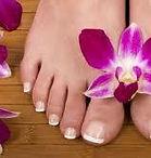 vernis semi permanent pieds
