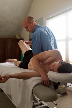 Side lying hip work