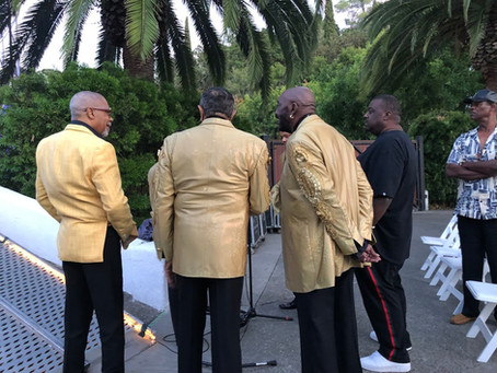 Prime Time Entertainment has always loved working with the Temptations over the years!
