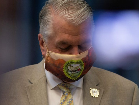 Nevada Gov. Sisolak tests positive for COVID-19. Here's what we know.