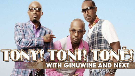 Working with Tony! Toni! Toné! today in Oakland!