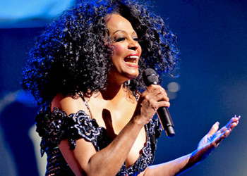On Tour With Diana Ross