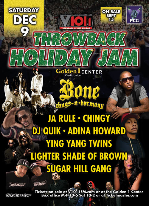 Backline Source is Proud to Help: V101 PRESENTS 2ND ANNUAL THROWBACK HOLIDAY JAM!
