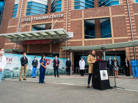 Health workers say they're near the brink as Utah reports another single-day COVID-19 record