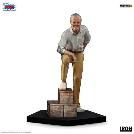 IRON ESTUDIOS MARVEL STAN LEE ESCALA DE ARTE 1/10