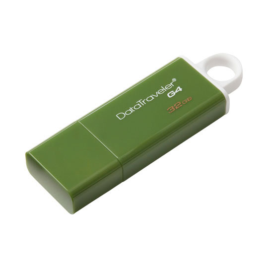 MEMORIA USB 32GB KINGSTON DTG4  VERDE OSCURO