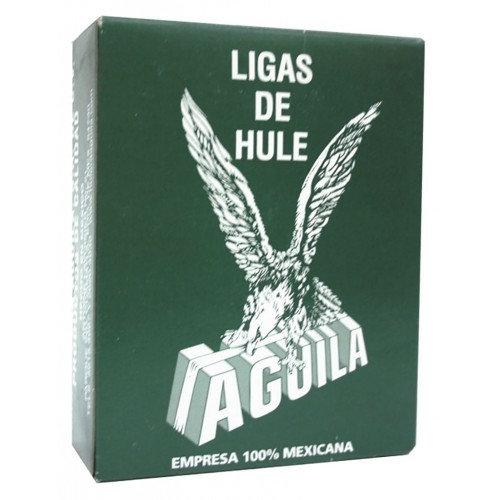 LIGA DE HULE No. 18 NATURAL CAJA  C/100 G.
