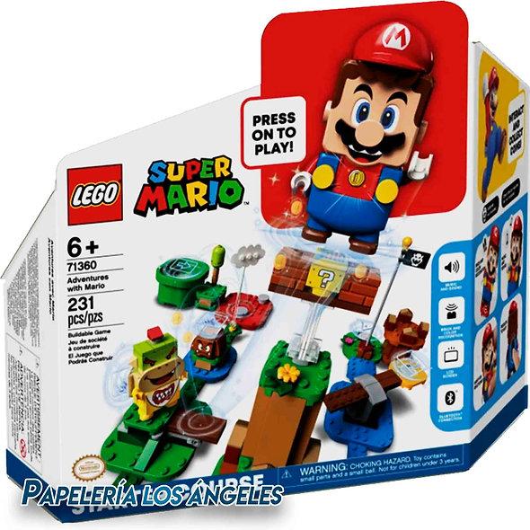 LEGO SUPER MARIO AVENTURAS CON MARIO PACK JUEGO BASE