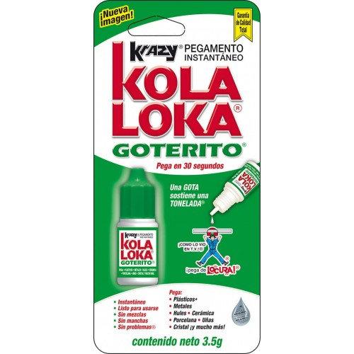 PEGAMENTO INST KRAZY KOLALOKA GOTERITO 3.5 G.
