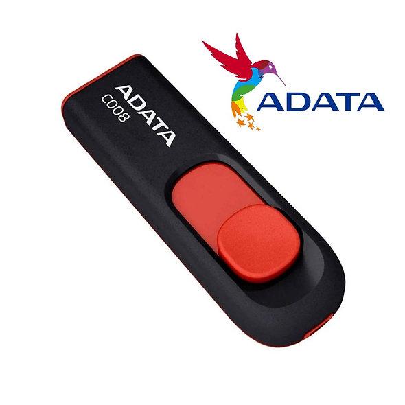 MEMORIA USB 32GB ADATA C008 NEGRO