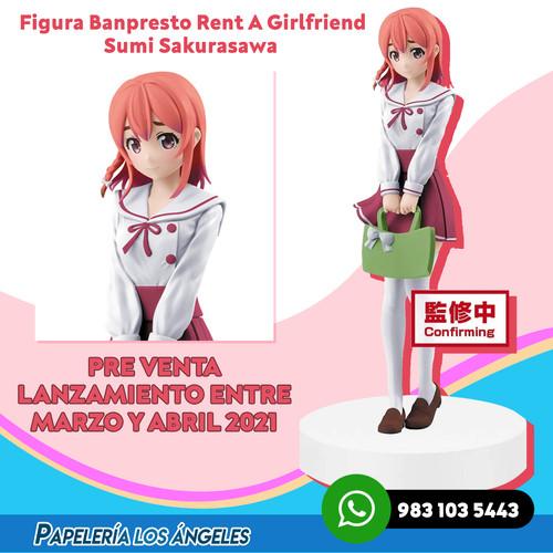Banpresto Rent A Girlfriend Sumi Sakuras