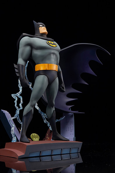 BATMAN ANIMATED SERIES BATMAN OPENING SEQUENCE VER ARTFX+ STATUE