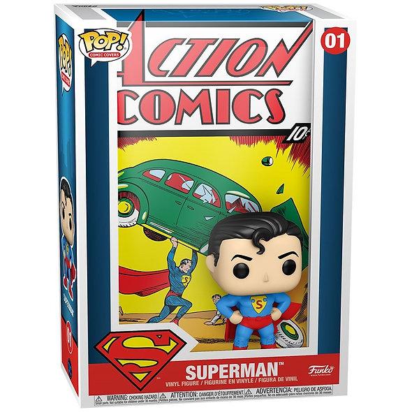 FUNKO POP HEROES : DC COMIC- SUPERMAN ACTION COMIC [PRE-VENTA]