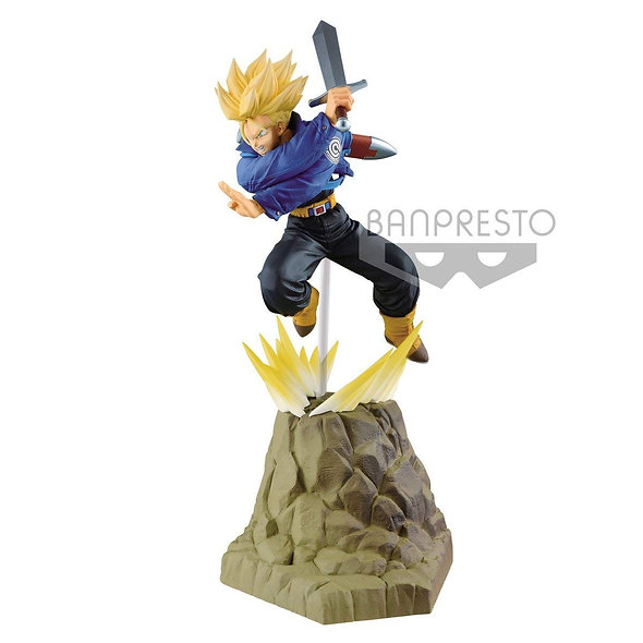 BANPRESTO DRAGON BALL Z TRUNKS ABSOLUTE PERFECTION
