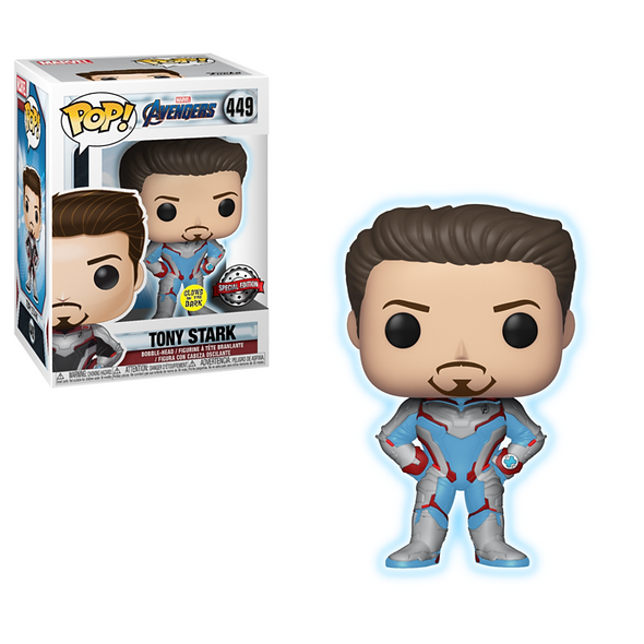 FUNKO POP MARVEL AVENGERS ENDGAME TONY STARK EXCLUSIVO