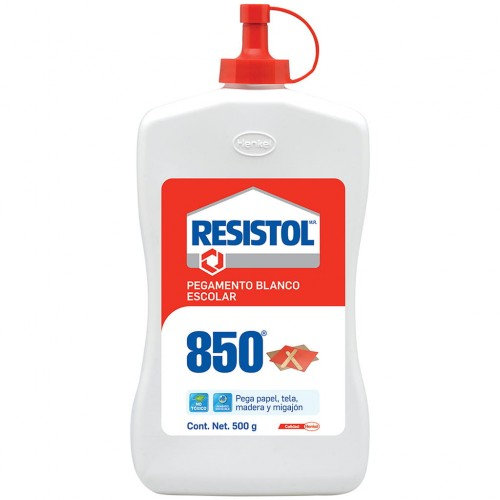 PEGAMENTO LIQUIDO BLANCO 850 500 g. RESISTOL