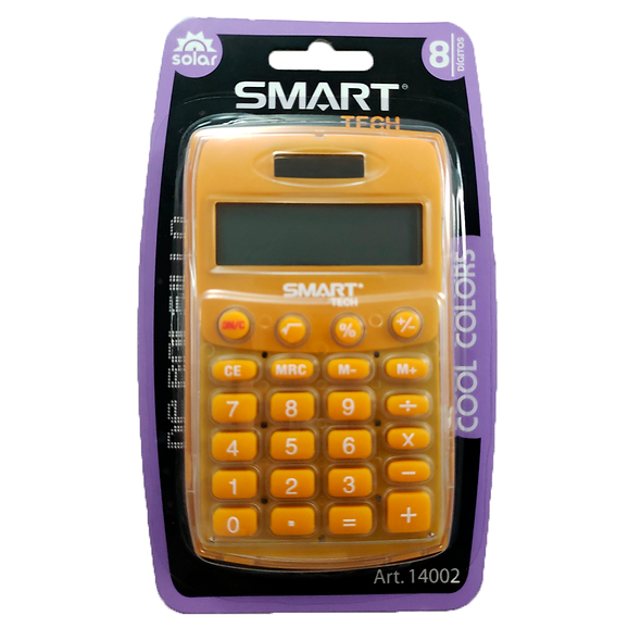 CALCULADORA DE BOLSILLO SMART TECH ART 14002