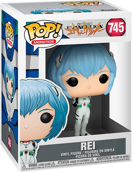 FUNKO POP ANIMATION EVANGELION REI AYANAMI