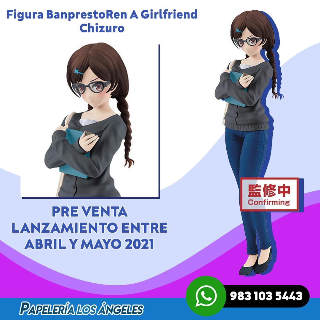 Banpresto Rent A Girlfriend Chizuru Figu