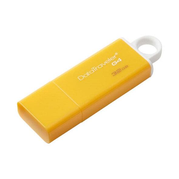 MEMORIA USB 32GB KINGSTON DTG4 AMARILLO