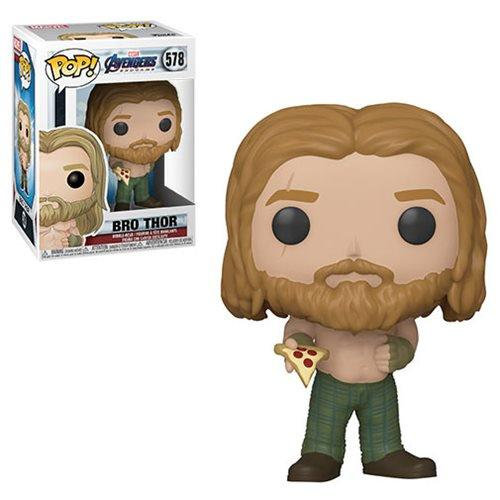 FUNKO POP MARVEL: AVENGERS ENDGAME - THOR GORDO CON PIZZA