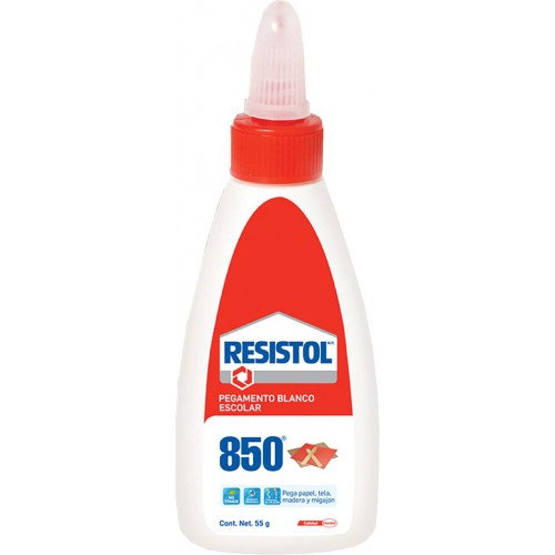 PEGAMENTO LIQUIDO BLANCO 850 55 g. RESISTOL