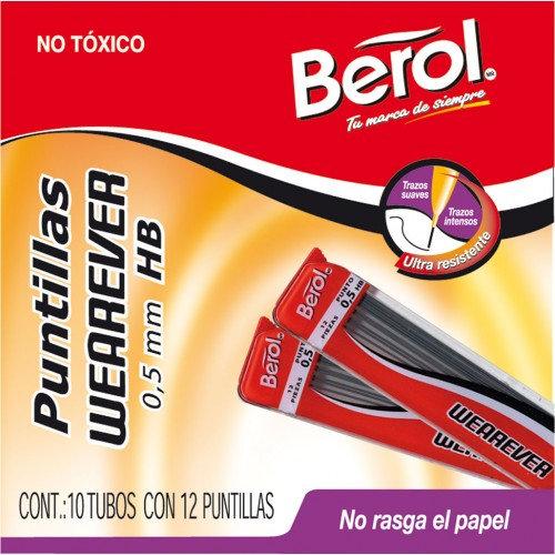 PUNTILLAS BEROL P/ LAPICERO DE 0.5MM WEAREVER INDIVIDUAL