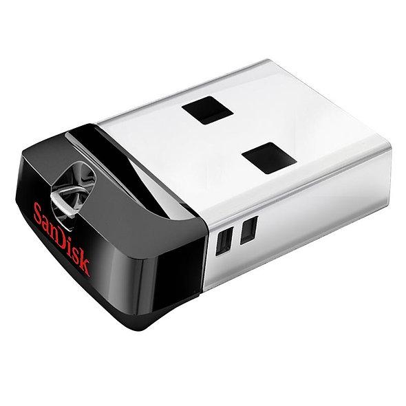 MEMORIA USB 32GB 2.0 SANDISK CRUZER FIT NEGRO