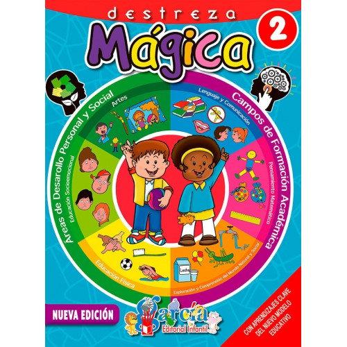 LIBRO DE ACTIVIDADES DESTREZA MAGICA 2