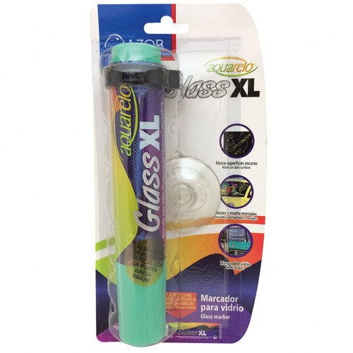 MARCADOR PARA VIDRIO AQUARELO GLASS XL