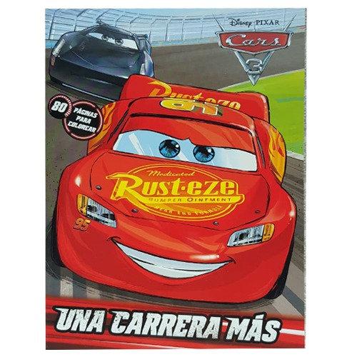 LIBRO PARA COLOREAR CARS UNA CARRERA MAS C/80 PAGS