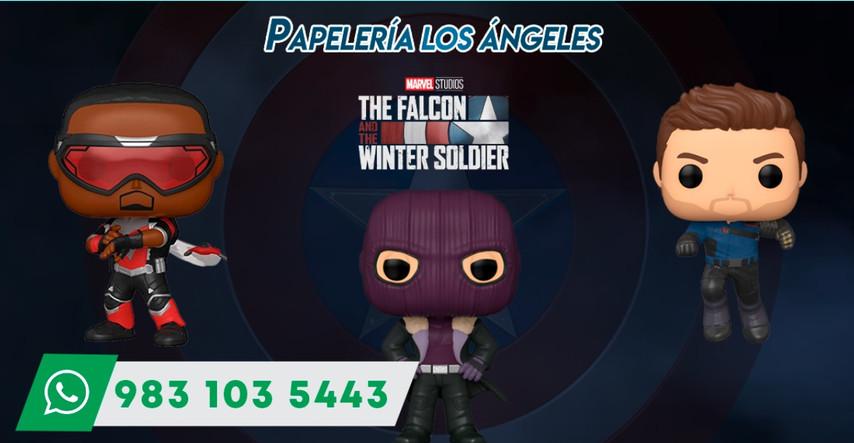 diseño serie falcon y el soldado del inv