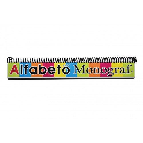 ALFABETO MOVIL 6 X 47 CM MONOGRAF