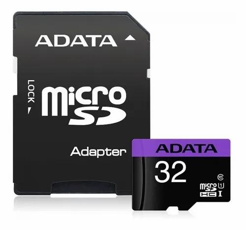 MEMORIA MICRO SDHC 32GB ADATA CLASS 10