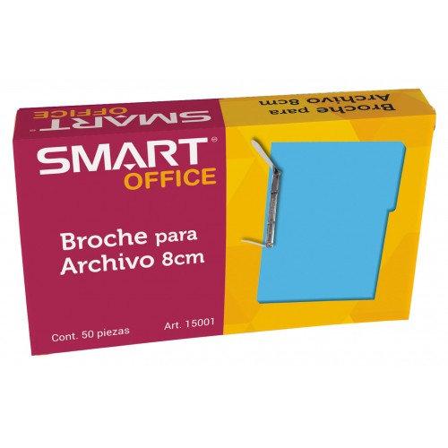 BROCHE PARA ARCHIVO DE 8 CM C/50 PZS