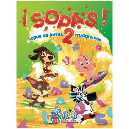 LIBRO DE ACTIVIDADES SOPA DE LETRAS 2