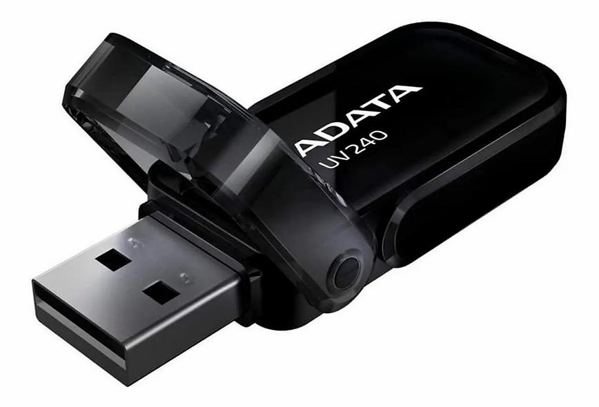 MEMORIA USB 16GB ADATA UV240 NEGRO