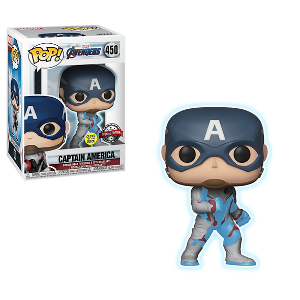 FUNKO POP MARVEL AVENGERS ENDGAME CAPITAN AMERICA EXCLUSIVO