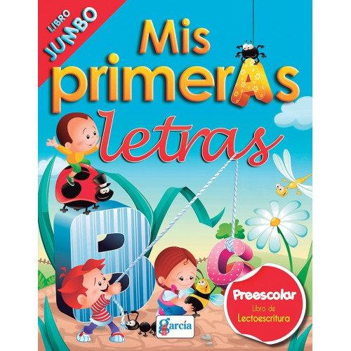 LIBRO PARA COLOREAR PRIMERAS LETRAS 1