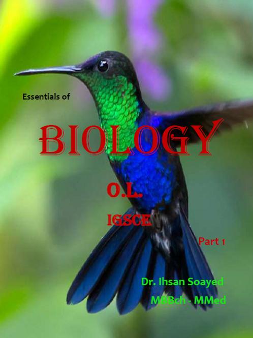 OL Biology part 1 notes - Cambridge