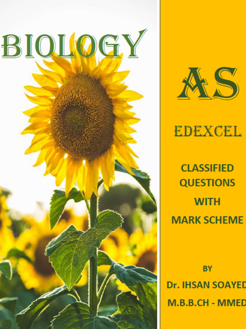 AS Biology Edexcel Classified Questions
