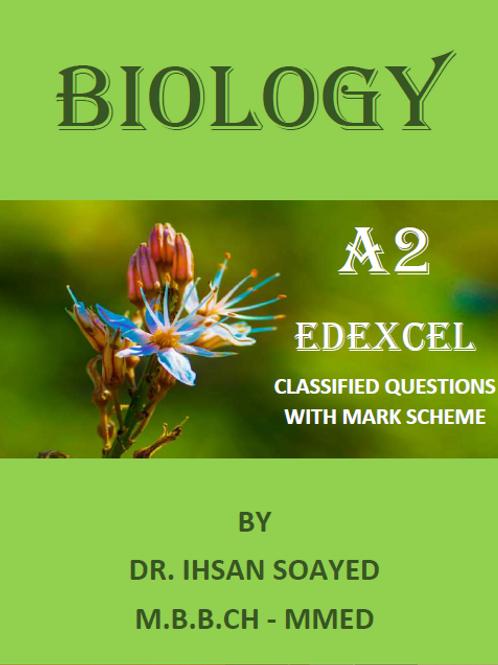 A2 Biology Edexcel Classified Questions