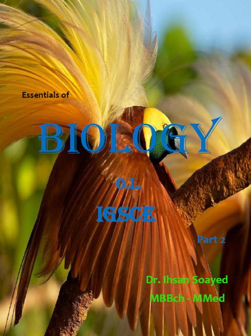 OL Biology part 2 notes - Cambridge